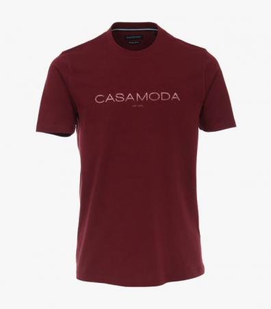 Tricou barbati bumbac organic logo CASA MODA visiniu [0]