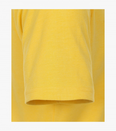 Tricou bumbac barbati CASA MODA galben print California [4]