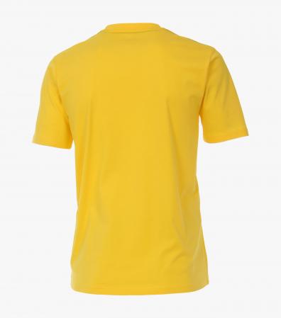 Tricou bumbac barbati CASA MODA galben print surf [1]