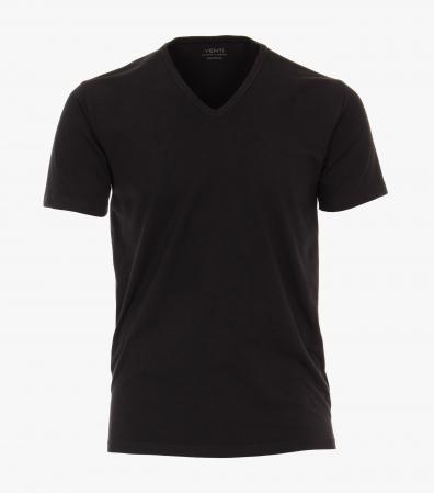 Set 2buc x Tricou anchior barbati VENTI negru [0]