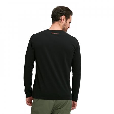 Tricou maneca lunga barbati Mammut Logo black [2]