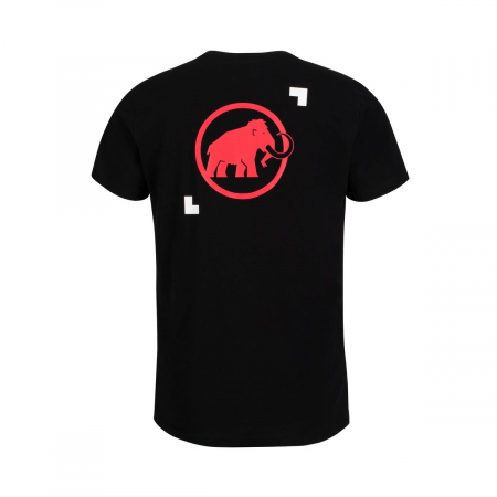 Tricou maneca scurta barbati Mammut Logo black [1]