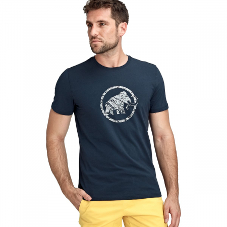 Tricou maneca scurta barbati Mammut Logo marine [1]