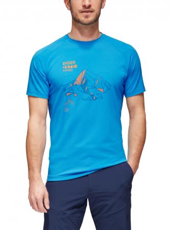 Tricou drumetie barbati MAMMUT Mountain Drirelease® albastru [1]