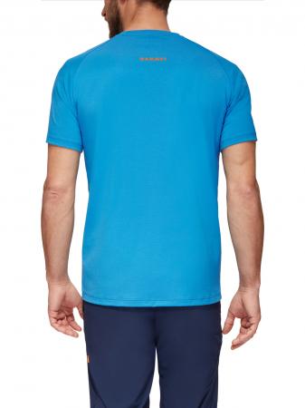 Tricou drumetie barbati MAMMUT Mountain Drirelease® albastru [2]