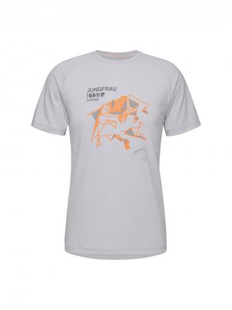 Tricou drumetie barbati MAMMUT Mountain Drirelease® gri deschis [0]