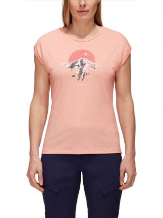 Tricou drumetie femei MAMMUT Mountain Drirelease® roz [1]