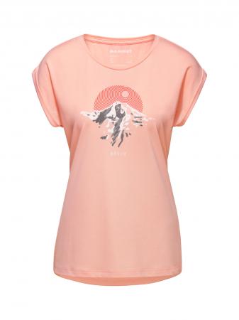 Tricou drumetie femei MAMMUT Mountain Drirelease® roz [0]