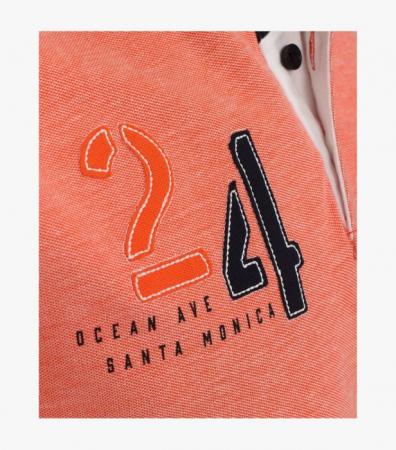 Tricou polo bumbac barbati CASA MODA Santa Monica portocaliu [4]