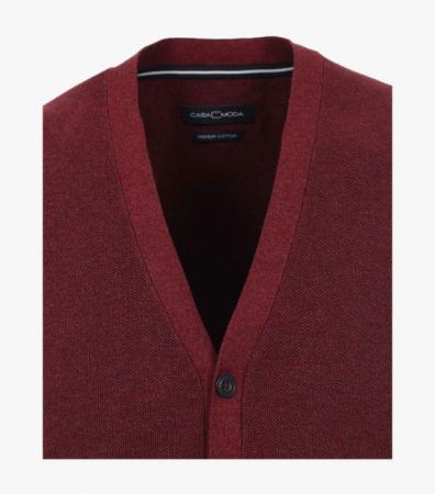 Vesta tricotata cu nasturi barbati CASA MODA visinie [2]