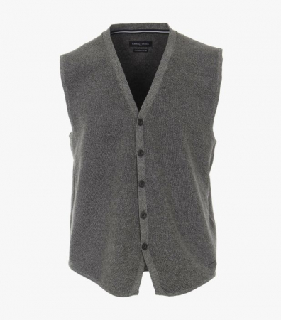 Vesta tricotata cu nasturi barbati CASA MODA antracit [0]