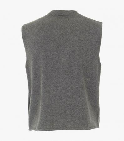 Vesta tricotata cu nasturi barbati CASA MODA antracit [1]