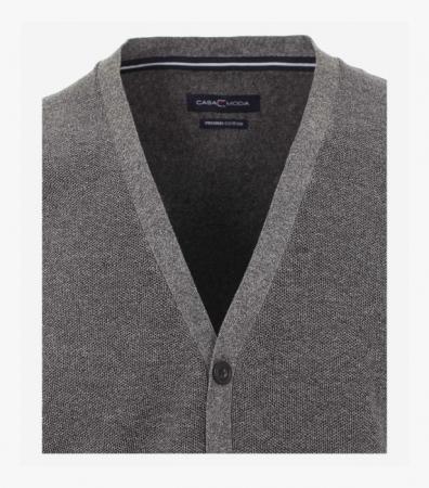 Vesta tricotata cu nasturi barbati CASA MODA antracit [2]