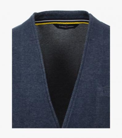 Vesta tricotata cu nasturi CASA MODA bleumarin [1]