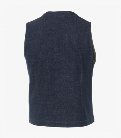 Vesta tricotata cu nasturi CASA MODA bleumarin [2]