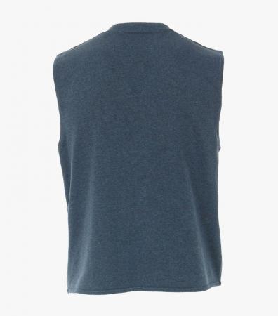 Vesta tricotata cu nasturi barbati CASA MODA aqua/petrol [1]