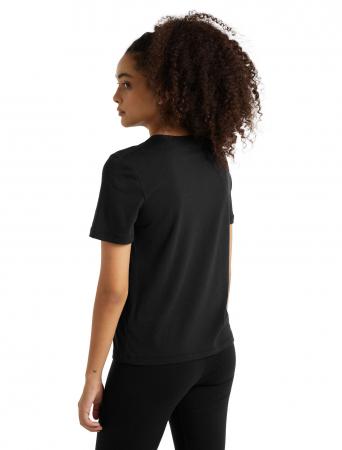 Tricou merino femei ICEBREAKER Central negru [2]