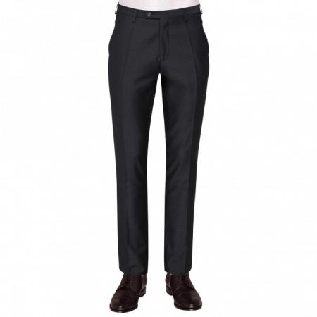 Pantaloni mix&match CLUB of GENTS Pascal pentru costum Diamond design Slim Fit negru [0]