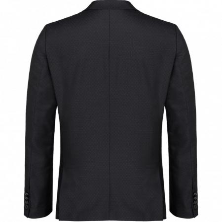 Sacou mix&match CLUB of GENTS Pete pentru costum Diamond design Slim Fit negru [1]