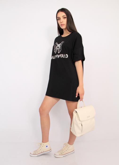 Bluza tip rochie casual 3