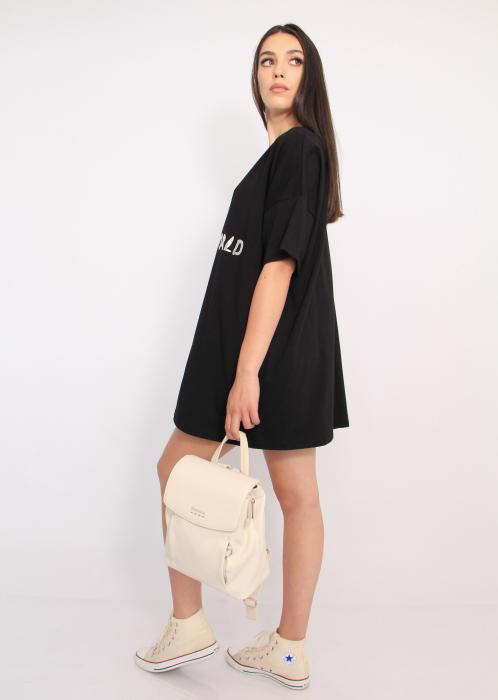 Bluza tip rochie casual 4