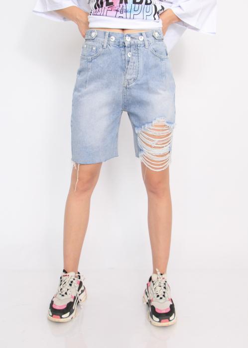 Pantaloni din denim, scurti. 1
