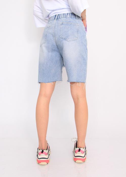 Pantaloni din denim, scurti. 4