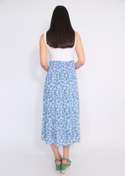 Rochie blue flowers 4