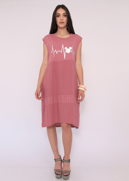 Rochie in si bumbac 0