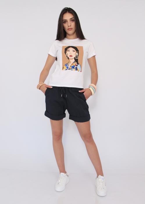 Tricou Portret Girl 0