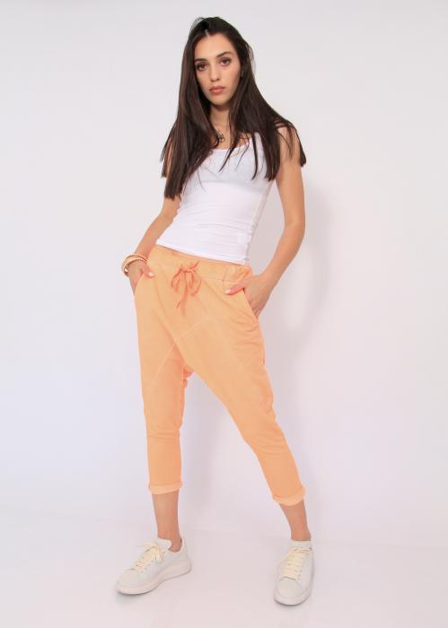 Pantaloni neon cu tur 3
