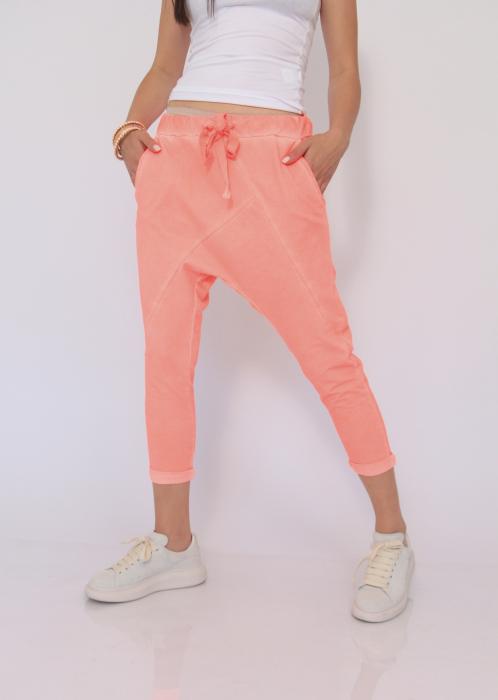Pantaloni neon cu tur 5