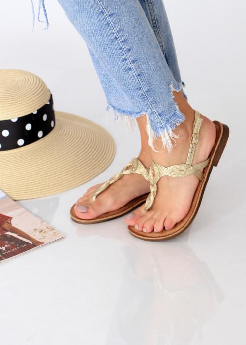 Sandale cu bareta intre degete 5