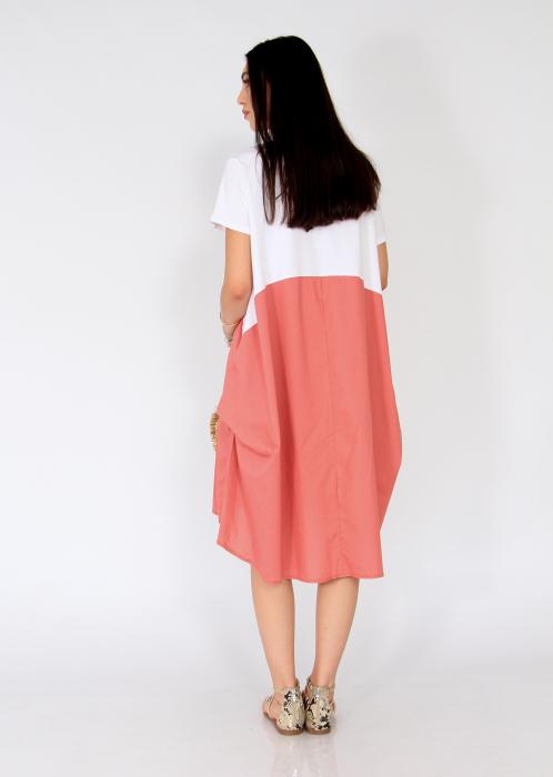 Rochie in doua culori. 3