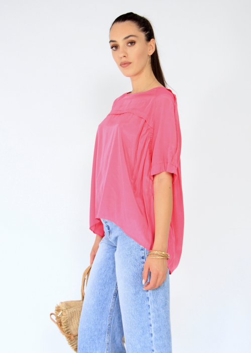 Bluza asimetrica,elastic maneca. 2
