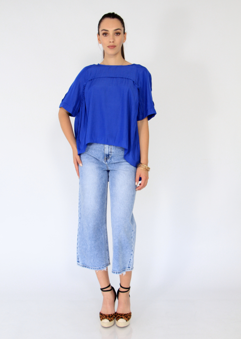 Bluza asimetrica,elastic maneca. 6