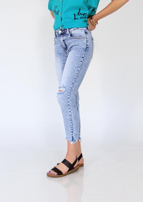 Jeans nefinisati. 2