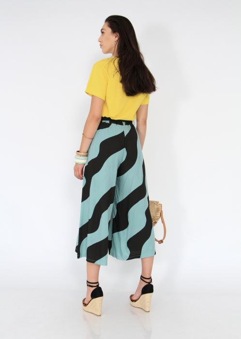 Pantaloni tip culotte 2