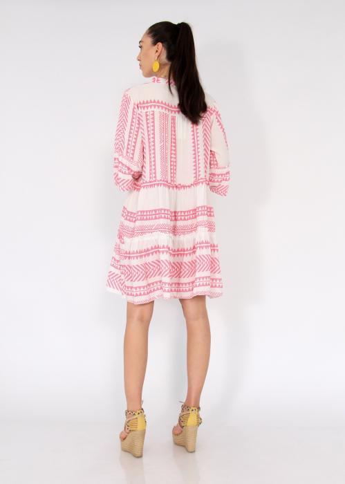 Rochie cu tunica motive etno 2