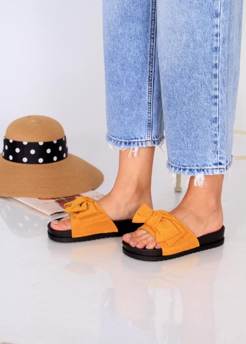 Papuci funda piele intoarsa 3