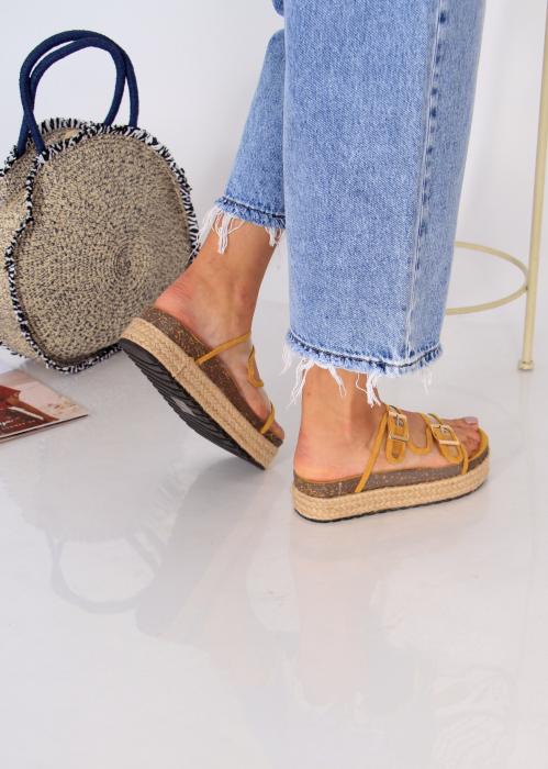 Papuci platforma inalta 2