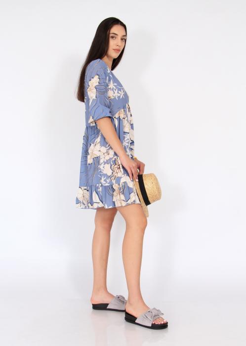 Rochie midi anchior print floral 3