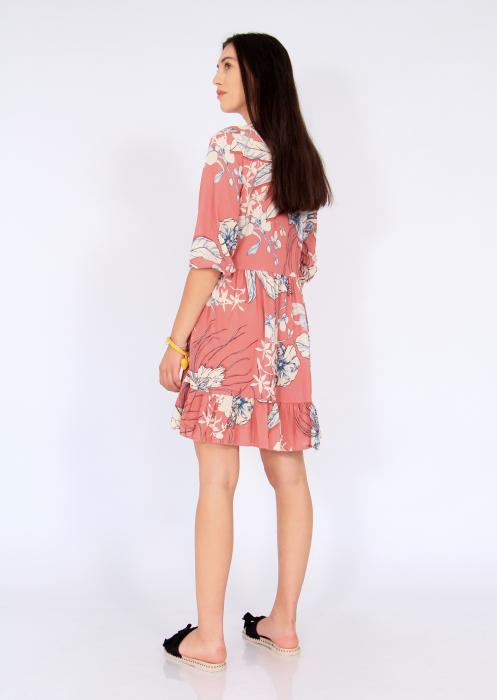 Rochie midi anchior print floral 5