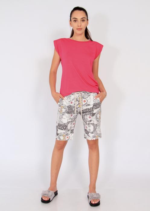 Pantaloni print desene 0