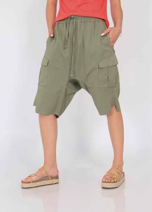Pantaloni cu tur si buzunare 0