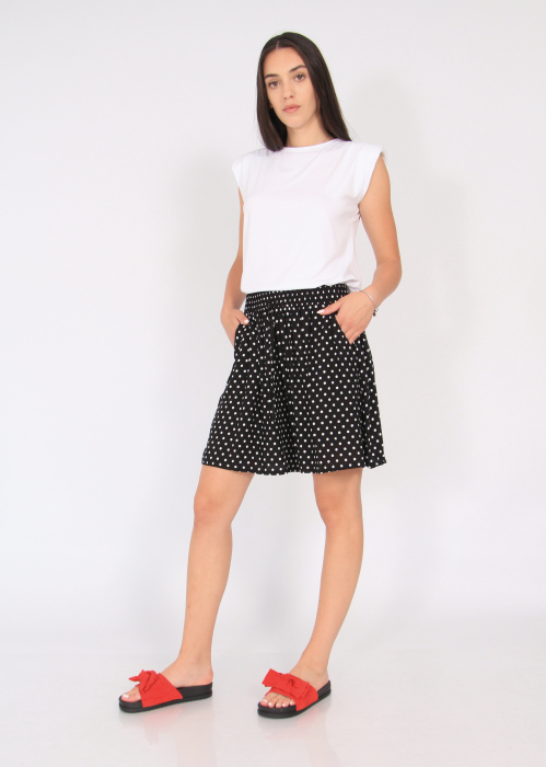 Pantaloni scurti elastic talie buline 1