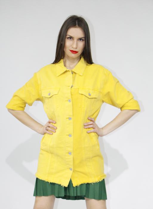 Jacheta din denim 1