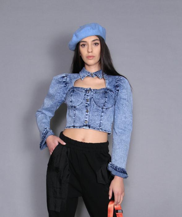 Jacheta Jeans si pantaloni [2]