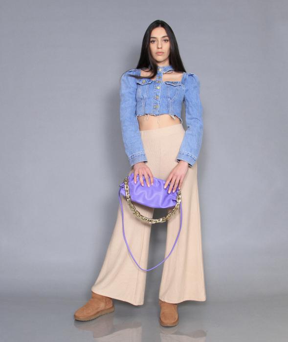 Jacheta jeans cu pantaloni [1]