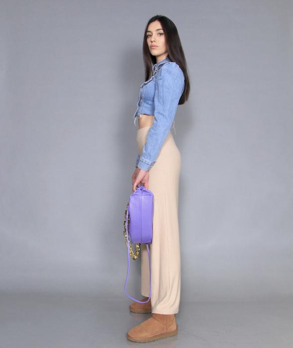 Jacheta jeans cu pantaloni [2]